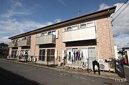 広島県福山市神辺町字十三軒屋の賃貸アパートの外観
