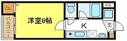 トワーニ芳章[4階]の間取り