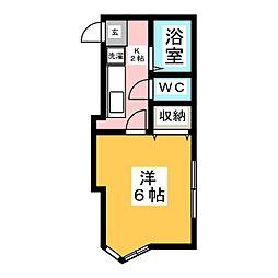 キャトルセゾンIII[2階]の間取り