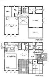 [一戸建] 静岡県駿東郡清水町新宿 の賃貸【/】の間取り