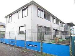 埼玉県上尾市大字向山の賃貸アパートの外観