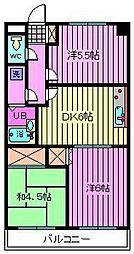 トーワ9104[102号室]の間取り