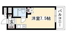 愛知県名古屋市天白区植田本町2丁目の賃貸マンションの間取り
