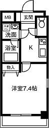 仮)プリミエール鳥居松II[403号室]の間取り