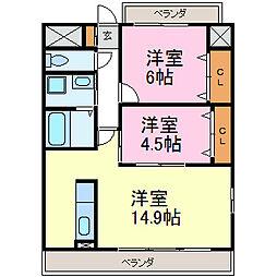 ベルグ大須[9階]の間取り