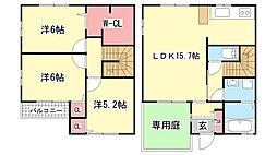 [テラスハウス] 兵庫県神戸市北区谷上南町 の賃貸【/】の間取り