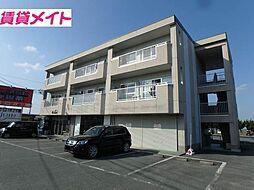 三重県松阪市立田町の賃貸マンションの外観