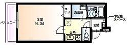 フジパレス堺初芝III番館[1階]の間取り
