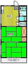 第二池田マンション[3階]の間取り