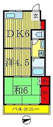 中山第一ビル[3階]の間取り