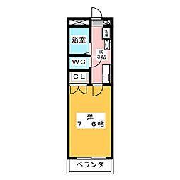HANAMIZUKI四軒家[1階]の間取り