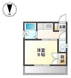 コートハウスI[4階]の間取り