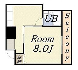 さつきマンション 3番館[3階]の間取り