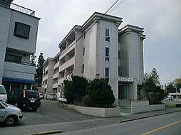 栃木県宇都宮市滝の原3丁目の賃貸マンションの外観