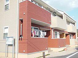 岡山県岡山市北区御津宇垣の賃貸アパートの外観