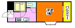 北島ハイツ 501号室[5階]の間取り