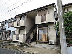 埼玉県川越市霞ケ関北4丁目の賃貸アパートの外観