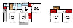 [一戸建] 福岡県古賀市青柳町 の賃貸【福岡県 / 古賀市】の間取り