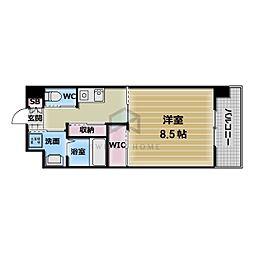 PHOENIX Clove Tomoi 5階1Kの間取り