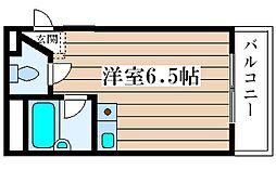 シャルムメゾン塚本[206号室]の間取り