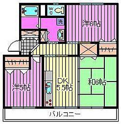 須賀第6ビル[1階]の間取り