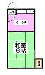 沼袋駅 4.3万円