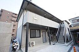 兵庫県宝塚市谷口町の賃貸アパートの外観