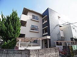 東京都足立区中川4丁目の賃貸マンションの外観