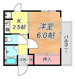 CONIFER[4階]の間取り