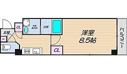 リバーライズ東小橋II[301号室]の間取り