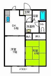 サクセスメゾン[2階]の間取り
