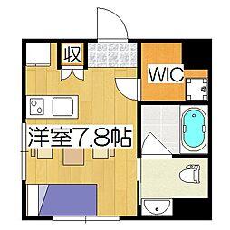 Coto Glance 鴨川別邸[6階]の間取り