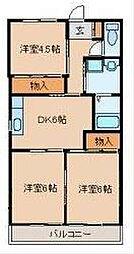 ベル神明台[2階]の間取り