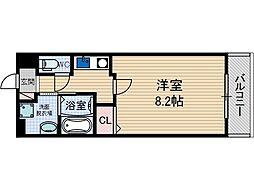 薩摩マンションNo7[2階]の間取り