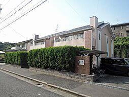 福岡県北九州市若松区高須西1丁目の賃貸アパートの外観