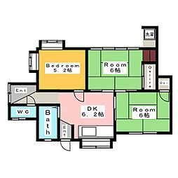 [一戸建] 愛知県碧南市六軒町5丁目 の賃貸【愛知県 / 碧南市】の間取り