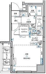 グランリーヴェル横濱南AIRY[5階]の間取り