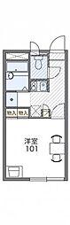 兵庫県三田市高次2丁目の賃貸アパートの間取り
