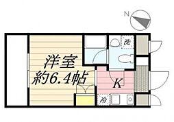 アデッソ志村ユニフォートデザイン[1階]の間取り