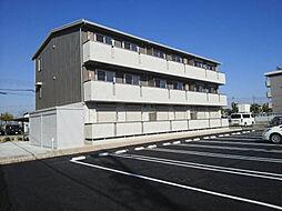 愛知県安城市新田町小山の賃貸アパートの外観