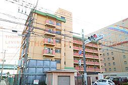 福岡県大野城市御笠川4丁目の賃貸マンションの外観