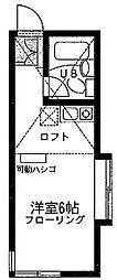 ユナイトステージ 南加瀬[2階]の間取り