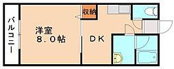 ライフステージ菰田[1階]の間取り