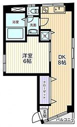東京都墨田区錦糸1丁目の賃貸マンションの間取り