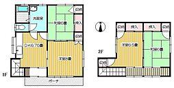 八重樫住宅[C地区・F号棟号室]の間取り