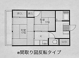 伊沢ビル[3階]の間取り