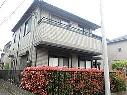 東京都府中市小柳町6丁目の賃貸アパートの外観