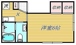 タウンハウス大岡山[2階]の間取り