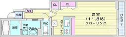 JR仙石線 榴ヶ岡駅 徒歩15分の賃貸アパート 1階1Kの間取り
