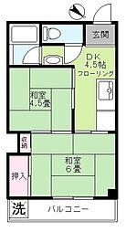 第二京浜ビル[403号室]の間取り
